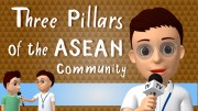 เรื่อง Three Pillars for the ASEAN Community